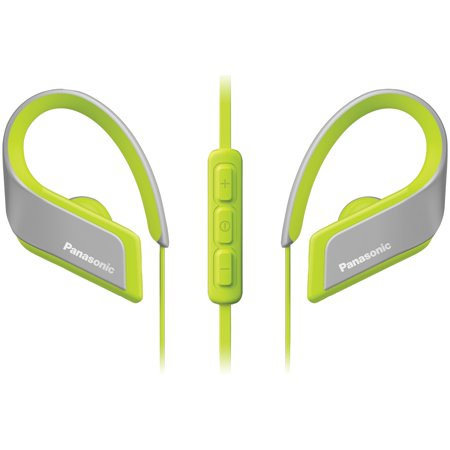 Panasonic RP-BTS35-Y WINGS Ultralight In-Ear Sport-Clip Earphones with Bluetooth - Ultralight Wing