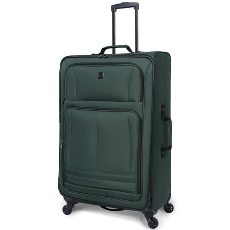"Protege 28"" Elliptic 4-Wheel Light Weight Spinner Luggage, Green"