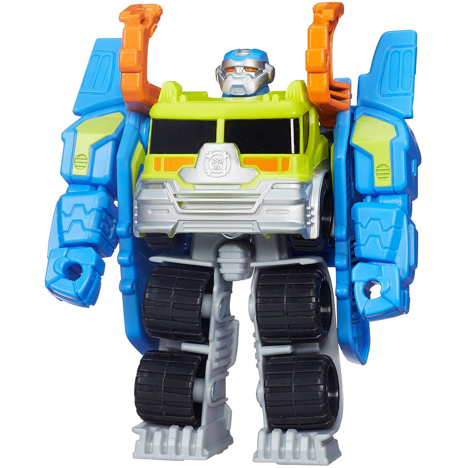 Playskool Heroes Transformers Rescue Bots Salvage the Construction-Bot Figure by Hasbro