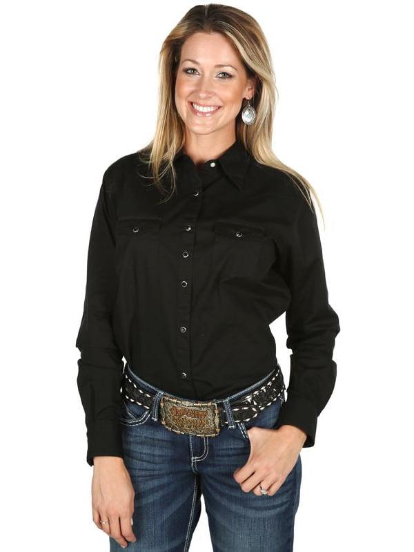 Wrangler Womens Blouses Shirts Walmart Com