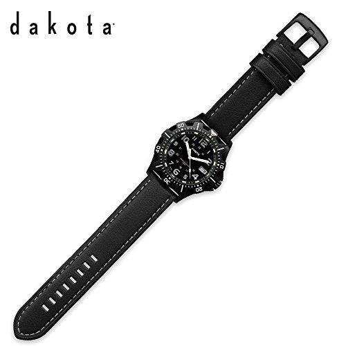 Dakota 77366 Adult's H3 Tritium Watch Black One Size Mult...