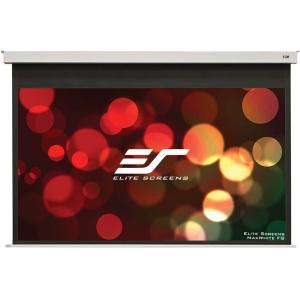 100IN DIAG EVANESCE B ELECTRIC CEILING MAXWHITE FG 16:9 49X87.2IN
