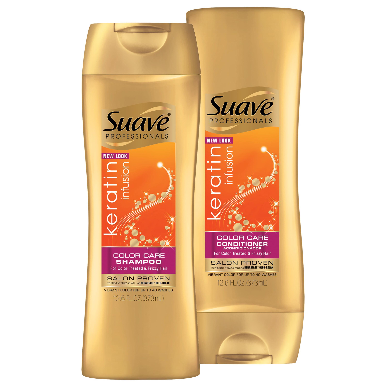 Suave Professionals Keratin Infusion Color Care Shampoo 28 Oz