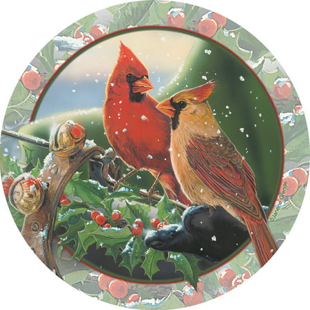 Thirstystone Occasions Drink Coasters, Cardinal Sleighride (Cardinals Coasters)