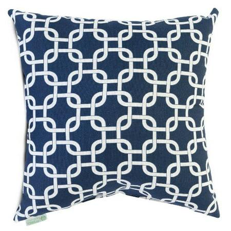 Majestic Home Goods Links Pillow, X-Large, Navy Blue - image 1 de 1