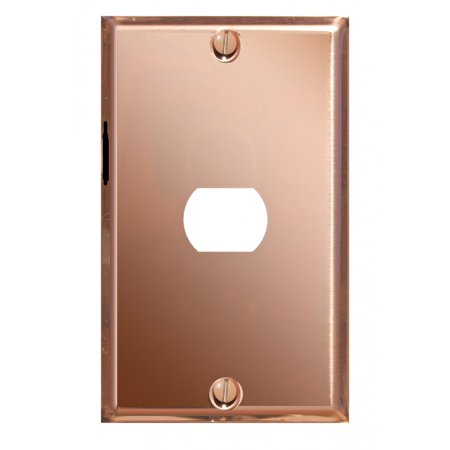 Solid Copper Plated (Switchplate Solid Copper 1)