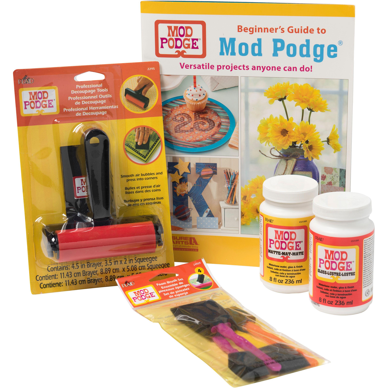 Mod Podge Beginner Paper Craft Kit, 8 oz, PROMOMPBEG