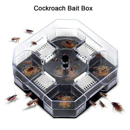 Effective Reusable Cockroach Catcher Cockroach Trap Cockroach Killer Cockroach Bait Box,Cockroach Bait Box,Cockroach Catcher - Giant Cockroach