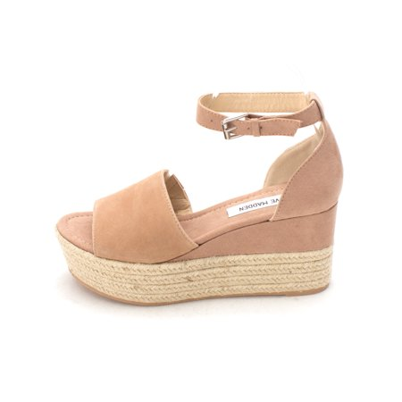 ccefe1474c2 Steve Madden Womens Apolo Leather Open Toe Casual Espadrille Sandals