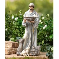 St Francis Statue Inside Outside - 14 inches