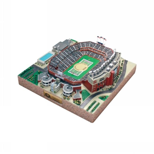 Sports Collectors Guild IllinoisUFB 9750 Limited Edition- Gold Series stadium replica of University of Illinois Memorial
