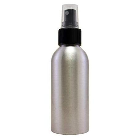 - 4 fl oz (118 ml) Aluminum Bottle with Black Fine Mist Spray Caps (6 Pack) - Greenhealth