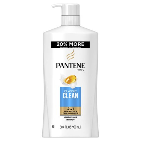 Pantene Pro-V Classic Clean 2In1 Shampoo & Conditioner, 30.4 fl (Best Moisturising Shampoo And Conditioner)
