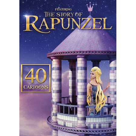 40 Cartoons: Featuring The Story of Rapunzel (DVD) (Cartoon Big Family)