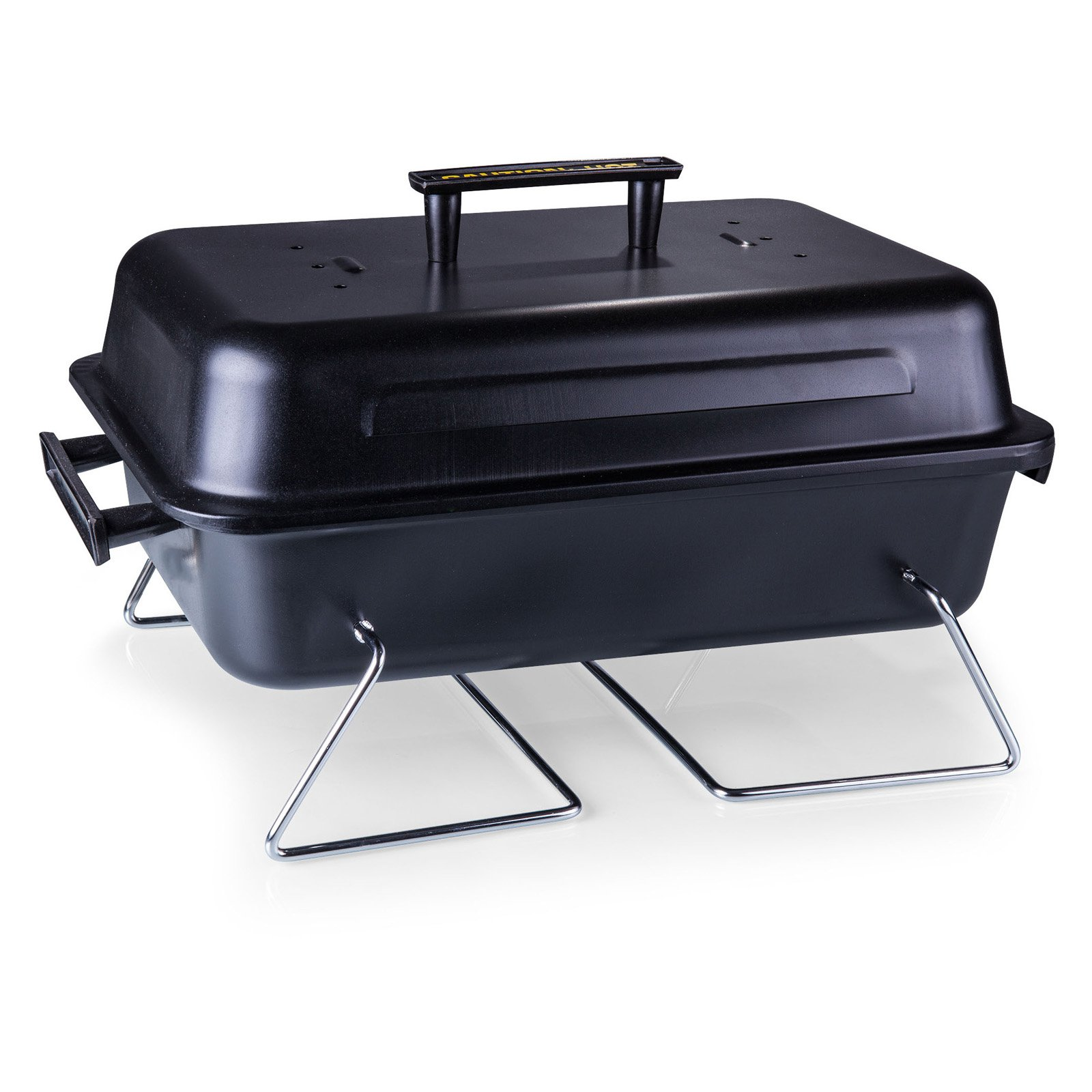 oniva buccaneer portable charcoal bbq grill and cooler tote