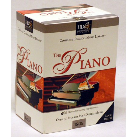 The Piano - Complete Classical Music Library 16 CD Box Set - Classical Piano Music For Halloween