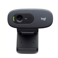 Logitech C270 HD Webcam 720P Video Card Webcam 720P Optical Lens Noise Reduction Micophone USB2.0 Plug And Play Mini Computer Camera for PC Laptop