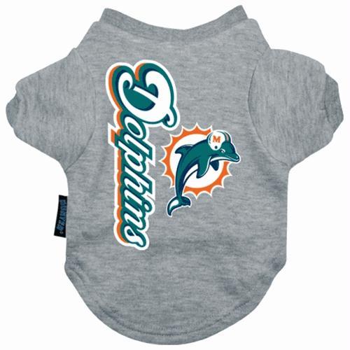 Miami Dolphins Dog Tee Shirt - Small