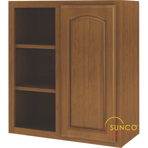 Sunco Inc. 31.07'' x 27.53'' Corner Kitchen Wall Cabinet