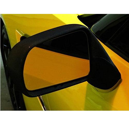 MIDWEST CORVETTE Camaro 5th Generation NoviStretch Mirror Bra Covers High Tech Stretch Mask Fits All Camaros 2010 Thru 2015