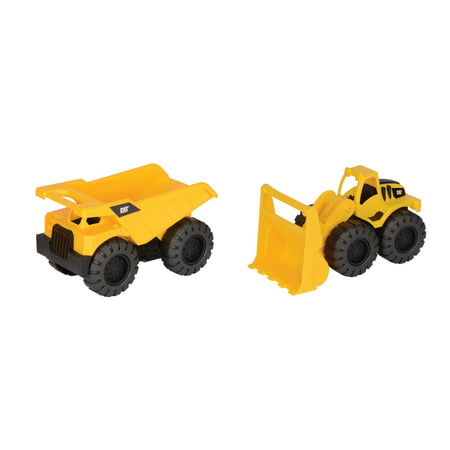 Caterpillar Tough Tracks Rugged Machine Dump Truck and Wheel Loader 2