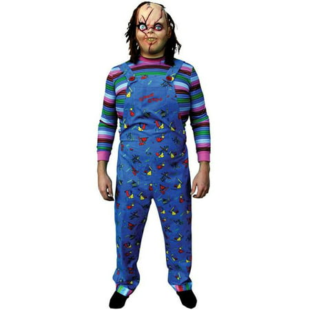 Chucky Costume For Adults (Chucky Child Play 2 Adult)