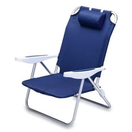 Picnic Time Monaco Folding Beach Chair []