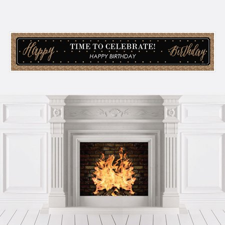 Chic Happy Birthday - Party Decorations Party Banner - Happy Birthday Chica