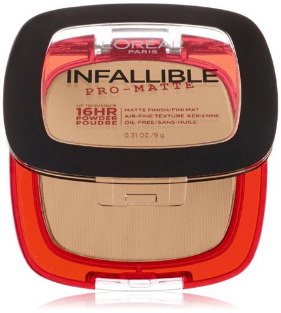 L'Oreal Paris Infallible Pro-Matte Powder, True Beige [400] 0.31 oz (Pack of 3)