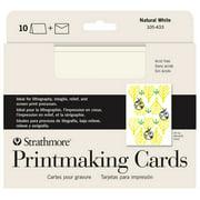 Strathmore Creative Cards, Full Size, Printmaking 10/Pkg.