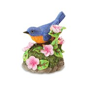 Blue Bird Figurine Multi-Colored