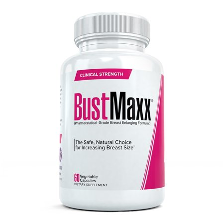 BustMaxx: Bust and Breast Enhancement Pills - Natural Breast Enlargement and Female Augmentation Supplement Designed to Increase Breast Growth and Enhance Bust Size, 60 (Female Breast)