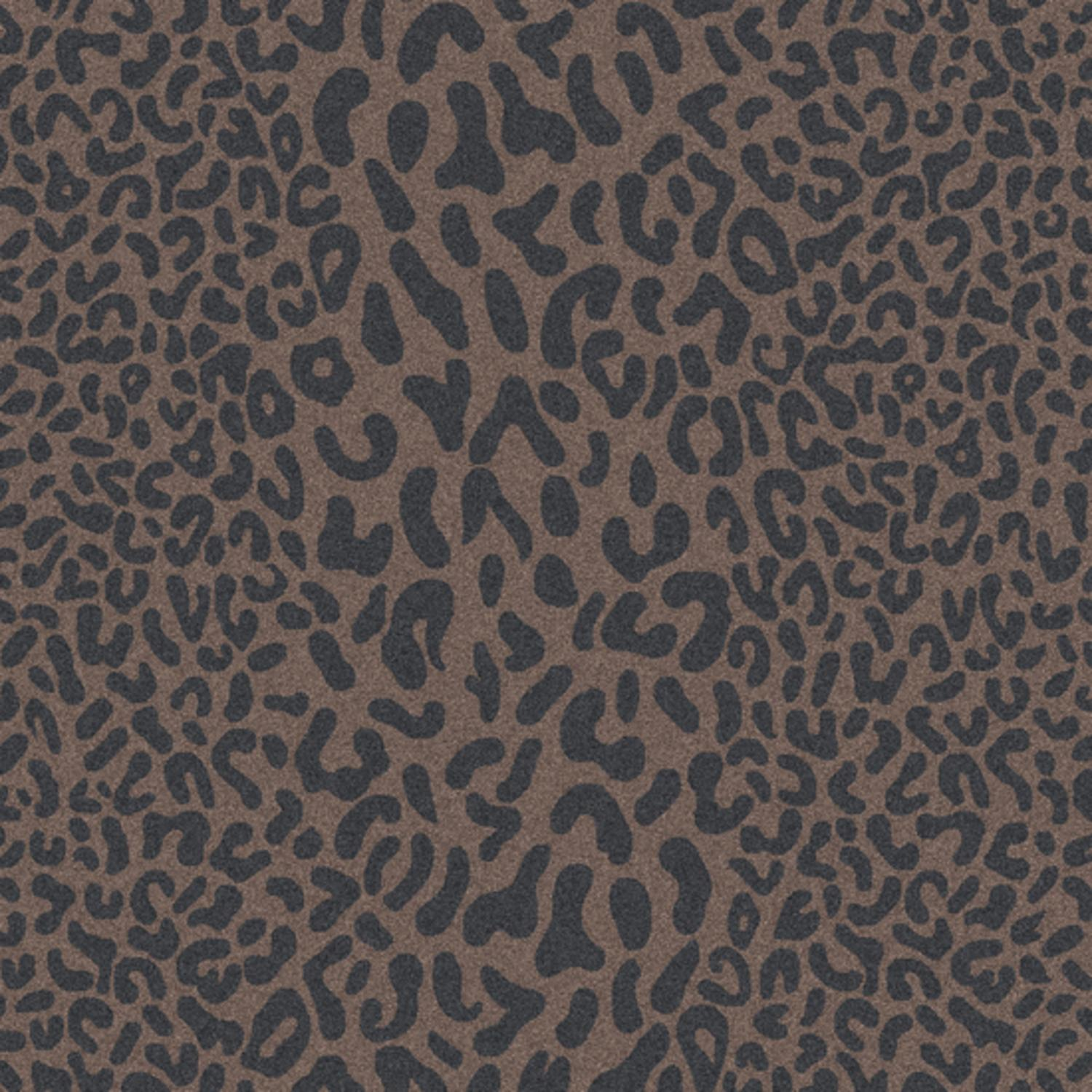 2' x 4' Les Animaux Gray and Tan Cheetah Hand Tufted Hearth Wool Area Throw Rug