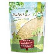 Organic KAMUT Khorasan Wheat Flour, 1 Pound - Stone Ground Powder, 100% Whole Grain Meal, Non-GMO, Kosher, Bulk – by Food to Live