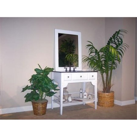 - Kaco International 340-2400-W Dover 24 in. Vanity with Cottage White Sherwin Williams  Finish  Vanity Only