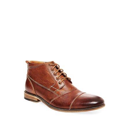 Jabbar Casual Leather Chukka Boots - Bernard Boots
