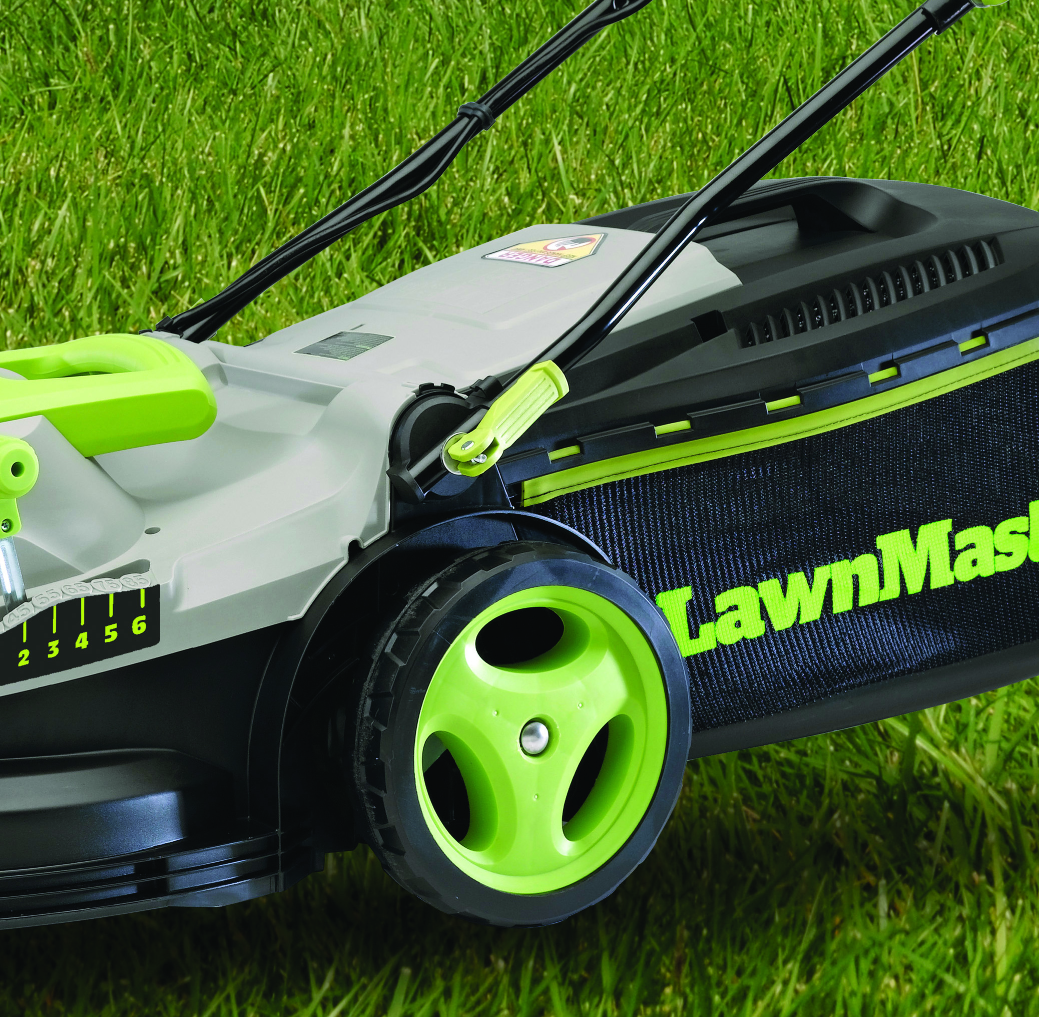 "lawnmaster meb1016m 10 and 15"" electric mulching mower walmart"