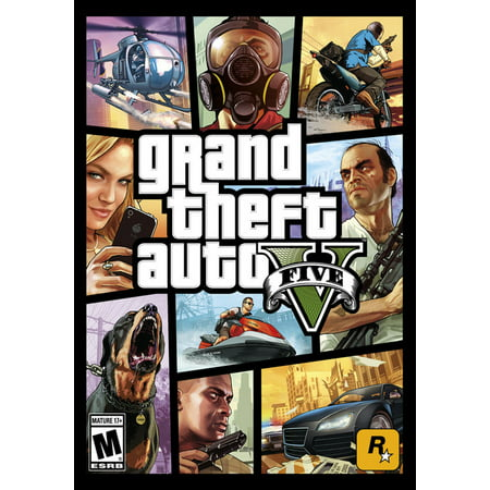 Grand Theft Auto V, Rockstar Games, PC, [Digital Download], 857847003660 ()