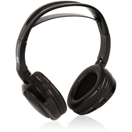 Audiovox Single Channel Wireless Fold-flat Headphones (Audiovox Audiovox Performance Series)
