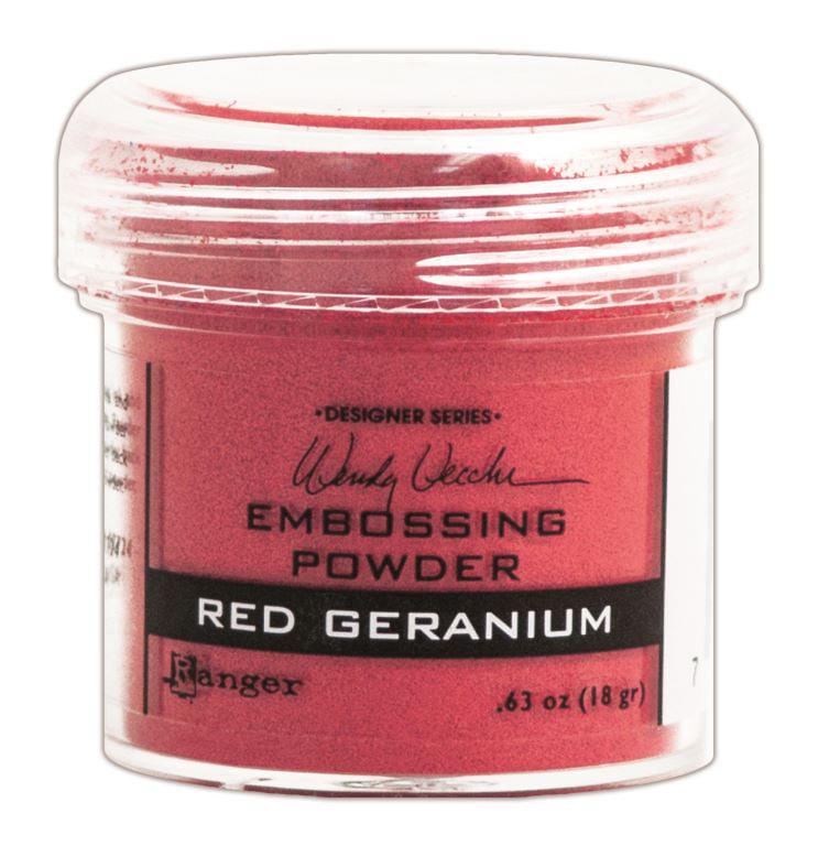 Wendy Vecchi Embossing Powder .63oz-Red Geranium