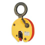 CM 92 1500 Plate Clamp, 3300 lb, Vertical, 0 to 3/4 In