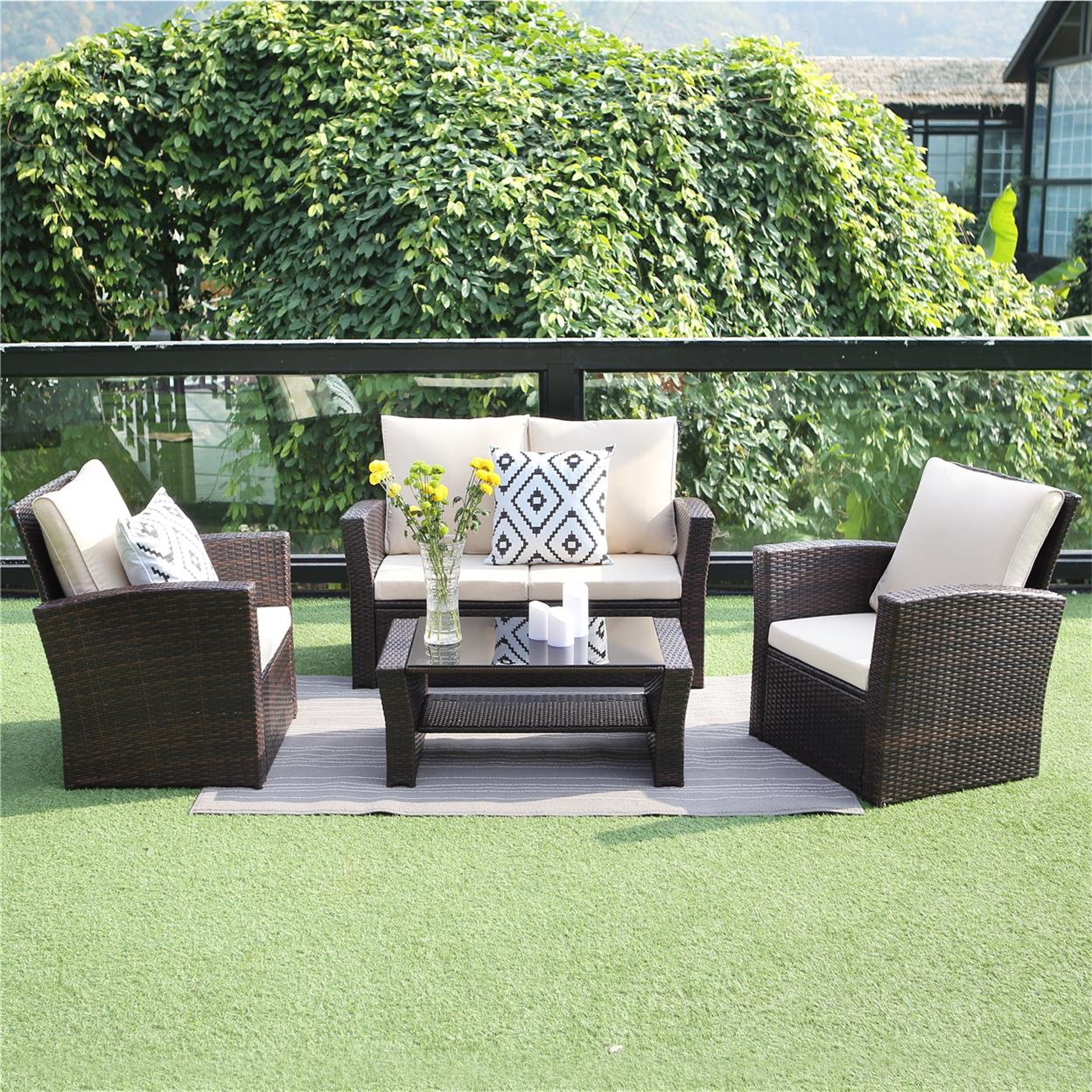 Outdoor Patio Furniture Set Wisteria