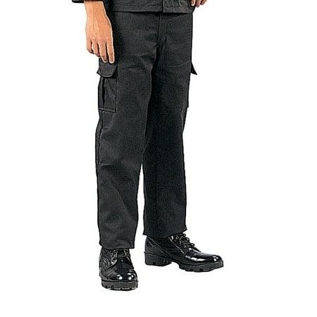Boy's BDU Pants Black ()