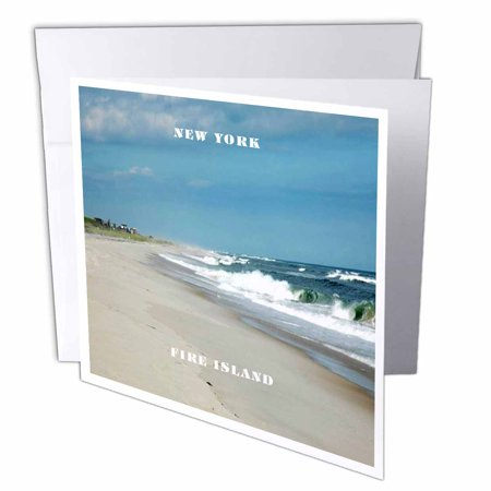 3drose famous fire island new york greeting cards 6 x 6 inches 3drose famous fire island new york greeting cards 6 x 6 inches set m4hsunfo