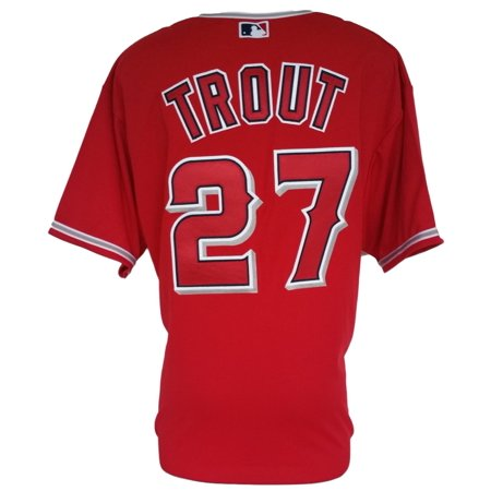 Mike Trout Los Angeles Angels Authentic Majestic Cool Base Jersey Xxl