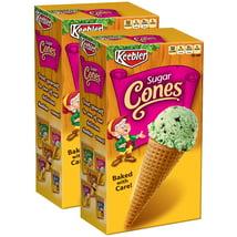 Ice Cream Cones & Toppings: Keebler Sugar Cones