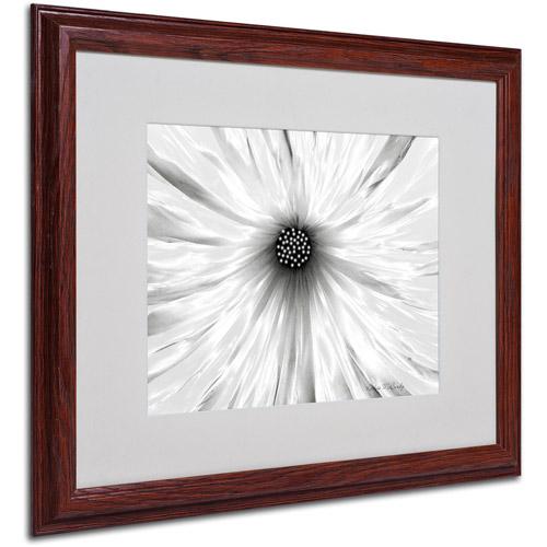 Trademark Art 'White Garden' Matted Framed Art by Kathie McCurdy
