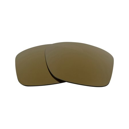 Replacement Lenses Compatible with OAKLEY JUPITER SQUARED 24K Gold Mirror ()