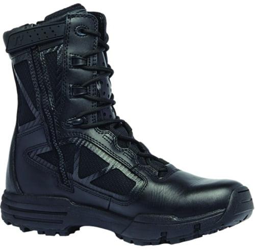 "Belleville TR918Z Men 8"" Tactical Research Chrome Hot Weather Side Zip Boot"