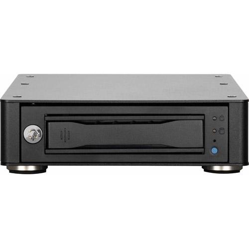 "CRU RTX115-3Q Drive Enclosure External - 1 x Total Bay - 1 x 3.5"" Bay - eSATA, FireWire/i.LINK 800, USB 3.0 - Cooling Fan"